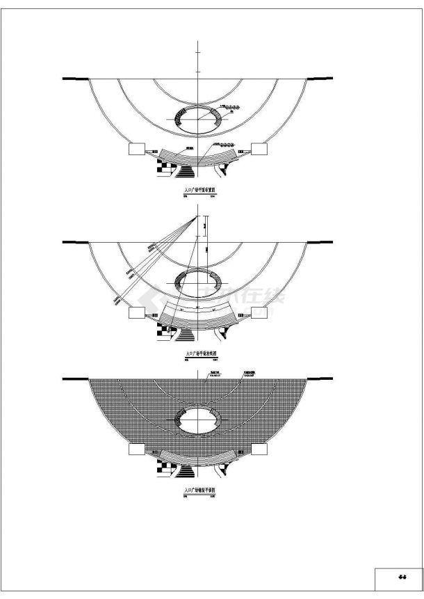 【深圳】某地高档小区的园林全套景观施工设计cad图(含设计说明及图纸目录)-图一