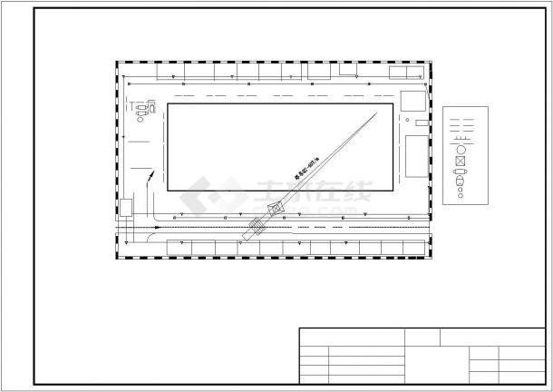 某4300平米CAD五层农业局办公楼毕业设计(计算书、施组、建筑、结构图)-图一