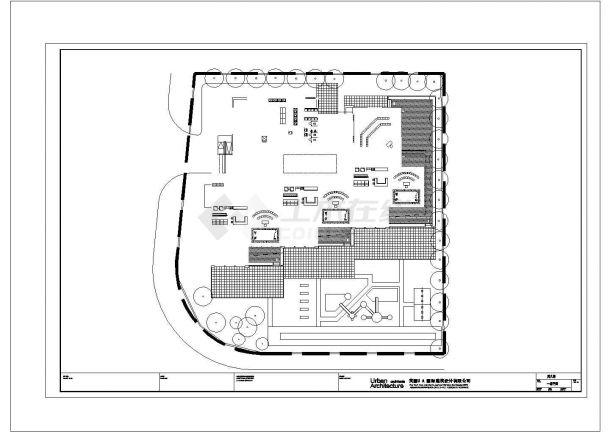 某市区高级幼儿园建筑全套方案设计施工CAD图纸-图二