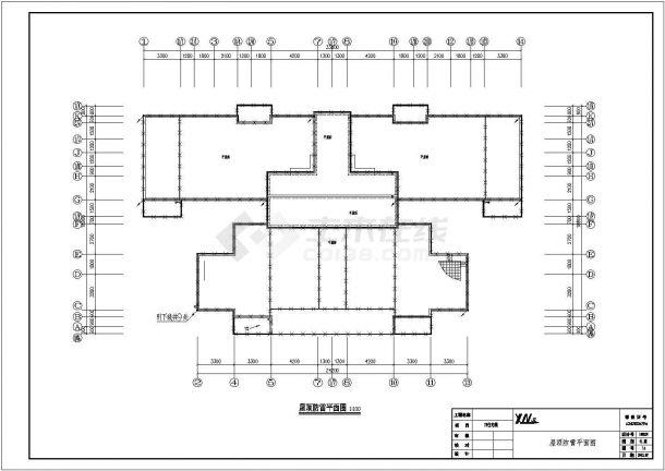 某7662.38㎡17层住宅楼CAD土建工程招标控制价(含CAD建筑图全套、清单计价)-图一
