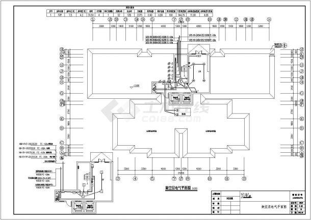 某7662.38㎡17层住宅楼CAD土建工程招标控制价(含CAD建筑图全套、清单计价)-图二