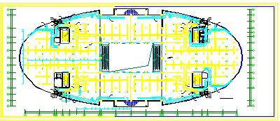 某大型暖通空调系统整套cad设计方案图纸-图二
