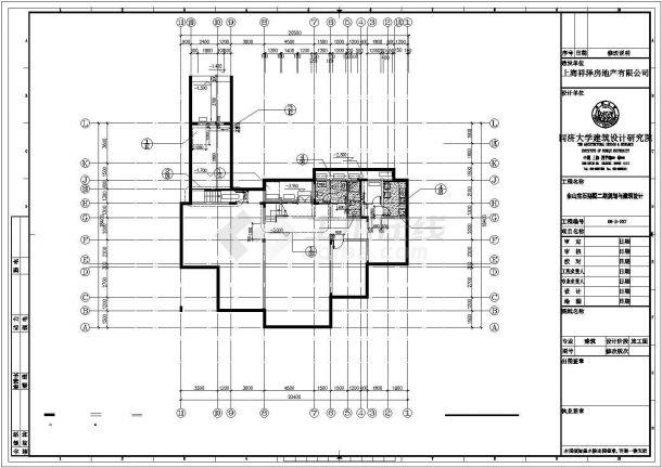 北京某村镇646平米2层框架结构单体别墅建筑设计CAD图纸(含地下室)-图一