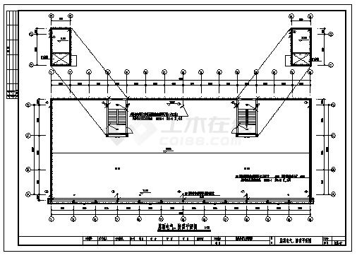 某六层综合楼电气施工cad图(含照明配电,防雷接地系统设计)-图二
