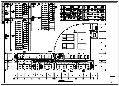 某五层厂区配套综合楼电气施工cad图(含照明,弱电,动力配电,防雷,接地设计)-图一
