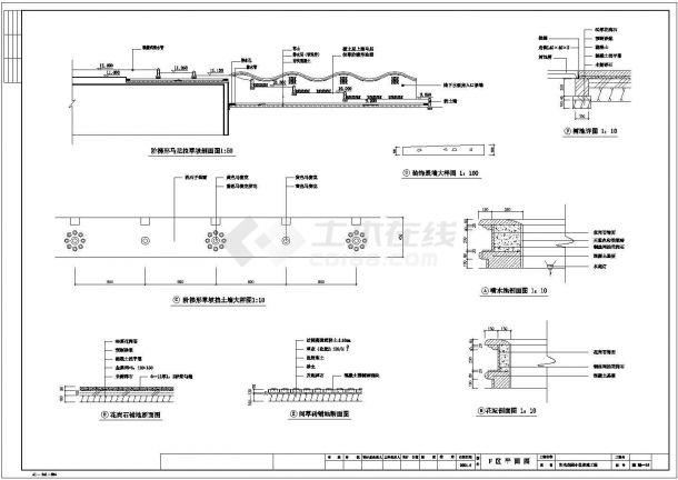 【苏州】阳光花园小区景观工程全套施工设计cad图-图一