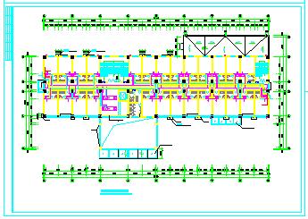 某酒店全套中央空调系统cad设计图纸-图一