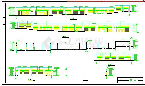 某商业建筑中央空调群控系统cad设计图纸-图一