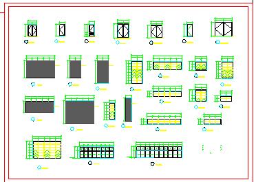 某商业建筑中央空调群控系统cad设计图纸-图二
