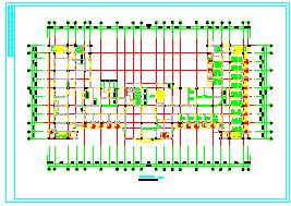 某市二层门诊楼cad建筑方案设计图纸-图二