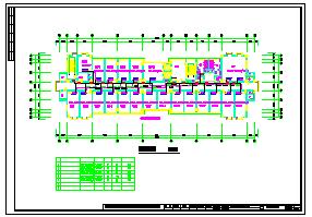 某市公安局指挥中心综合楼cad暖通空调设计图-图一