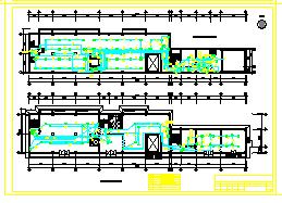 办公楼电气设计cad方案施工图纸-图一
