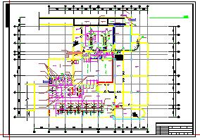 某市中学食堂及锅炉房建筑cad设计施工图-图一