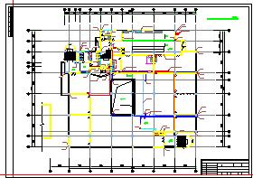 某市中学食堂及锅炉房建筑cad设计施工图-图二