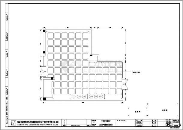 某开发区主题餐厅室内装修设计cad施工图-图二