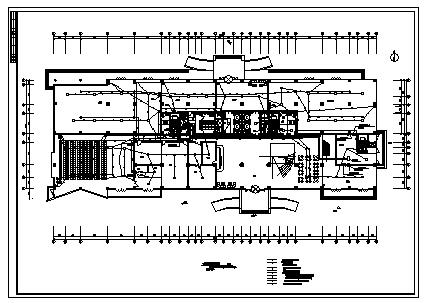 某十七层带地下室商务大厦电气施工cad图(含强电,消防设计)-图二