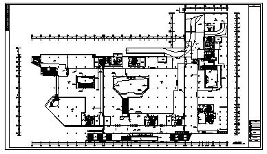 某十八层带地下室大厦电气施工cad图(含照明,弱电,消防设计)-图一