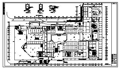 某十八层带地下室大厦电气施工cad图(含照明,弱电,消防设计)-图二