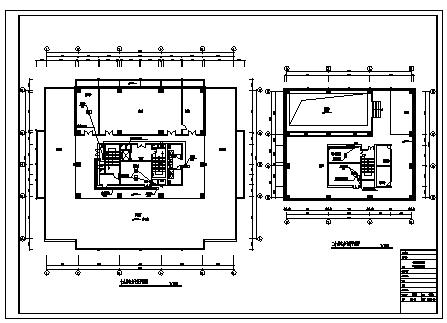 某20层大厦办公楼全套电气施工cad图(含低压配电,电力照明,消防自动报警系统设计)-图一