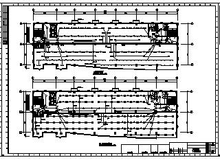 某十层办公大楼全套电气施工cad图(含照明配电,火灾自动报警及消防联动控制系统设计)-图二
