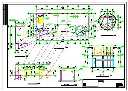 南方老人活动场所建筑CAD设计图带效果图-图一