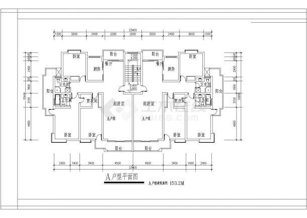 装修设计大140平米的户型【含平面布置图,效果图】-图一