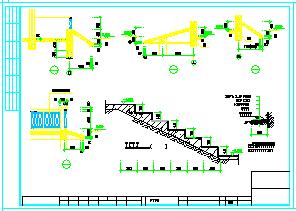 私人别墅建筑结构cad设计图-图二