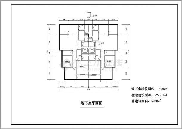 航运新村高层住宅建筑设计01设计全套施工cad图-图一