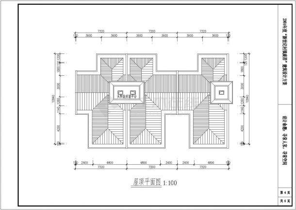 淮安市城市建筑设计全套施工cad图-图一