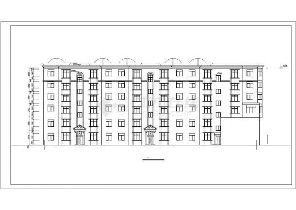 两层底框全套建筑设计全套施工cad图-图二
