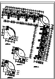 某七层办公楼电气施工cad图(含弱电,消防设计)-图二