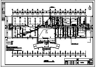 某六层纺织厂办公楼电气施工cad图(含电气照明、防雷与电气接地系统)-图一