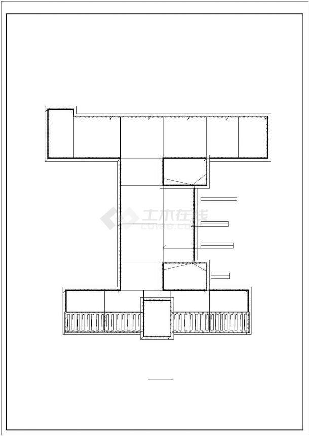 某实验中学教学楼电气系统方案设计施工CAD图纸-图一