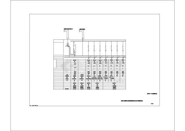 某大数据云存储研发应用中心强电方案设计施工CAD图纸-图一
