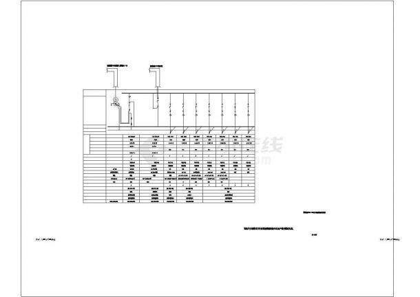 某大数据云存储研发应用中心强电方案设计施工CAD图纸-图二