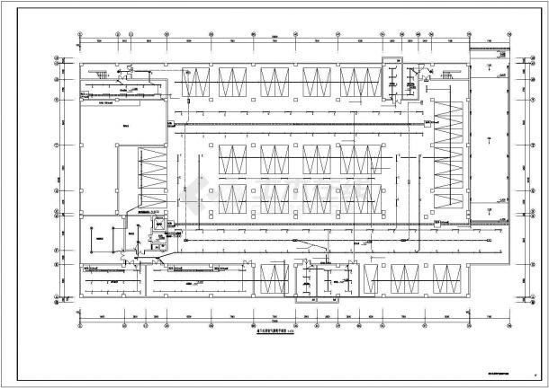 某单位建筑电气系统方案设计施工CAD图纸-图一