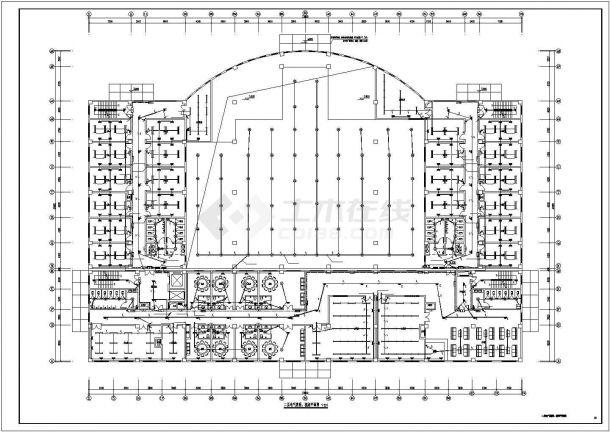 某单位建筑电气系统方案设计施工CAD图纸-图二