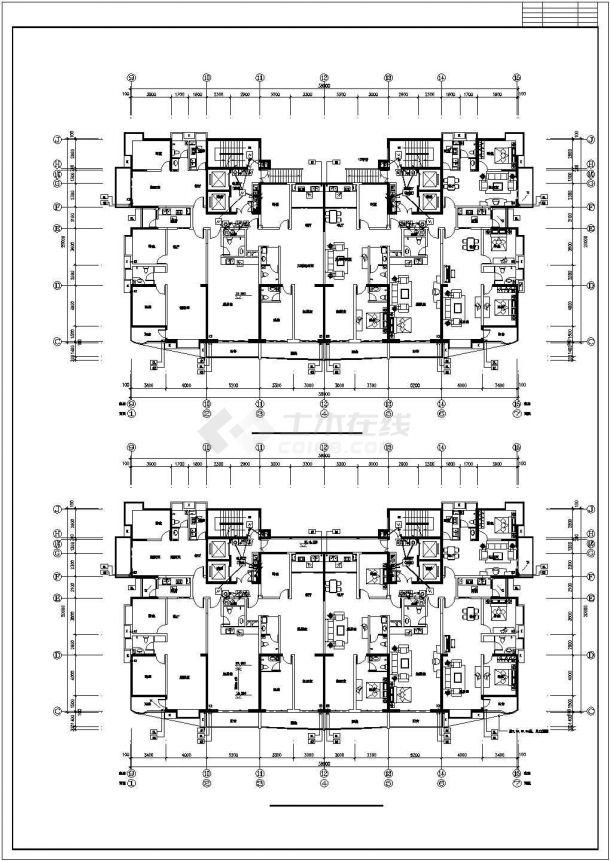 某开发区单位建筑电气系统设计施工CAD图纸-图一