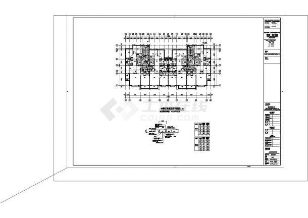 某地区回迁住宅楼电气系统设计施工CAD图纸-图二