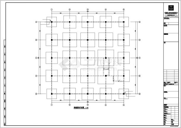某地区标准化厂房电气系统设计施工CAD图纸-图一