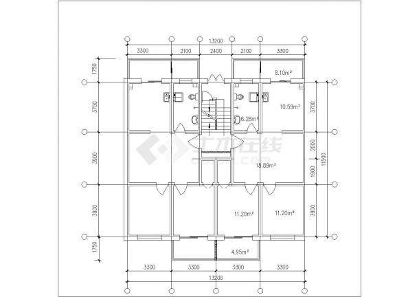 西安市嘉隆明城居住区经典热门的平面户型设计CAD图纸(共14张)-图一
