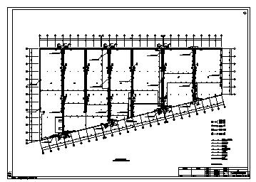 某二层门式钢架库房电气施工cad图(含消防设计)-图二
