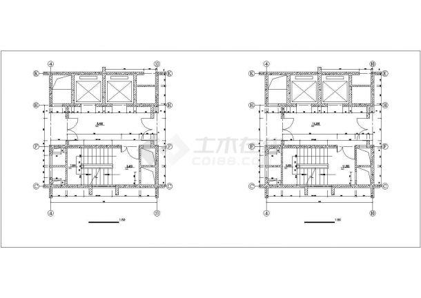 成都市月湖名邸小区18+1层框架结构住公寓住宅楼建筑设计CAD图纸-图一