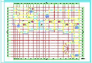 北京某童星幼儿园整套CAD平面设计施工图纸-图一