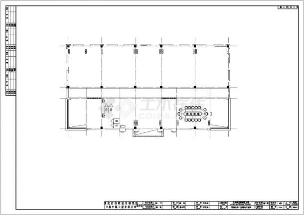 某城市大学城复线隧道项目设计施工CAD图纸-图二