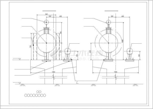某城郊厂区蒸汽管网项目设计施工CAD图纸-图一