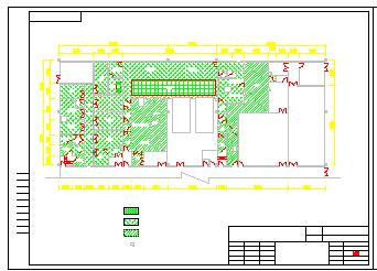 某宠物房平面及净化设计cad施工图纸-图二