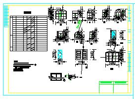某二层欧式独栋别墅建筑cad设计图(300平方米)-图二