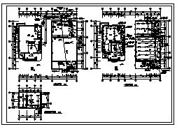 某三层带地下室职工用房及工业厂房电气施工cad图(含照明设计)-图一