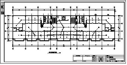 某市三层带地下一层教育小区综合楼电气施工cad图(含火灾自动报警系统图)-图一